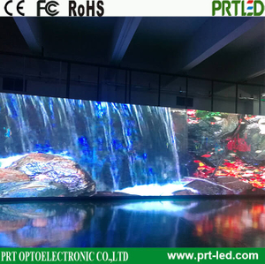 P3.91, P7.81 Full Color Glass LED display screen for event/show/stage background