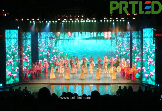 Straight/Curved Indoor Full Color Rental LED Display Panel 500 X 1000 Mm with Unique Design (P3.91,P2.9,P4.81)