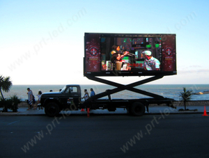 P10 Movable Message Board for Outdoor Advertisement