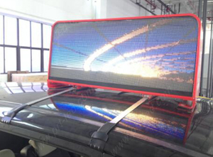 Small Size P5 Outdoor Full Color Vehicles LED for Advertisement
