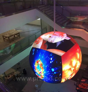 P4.8 Dynamic LED Mira Ball for Indoor Advertising Display