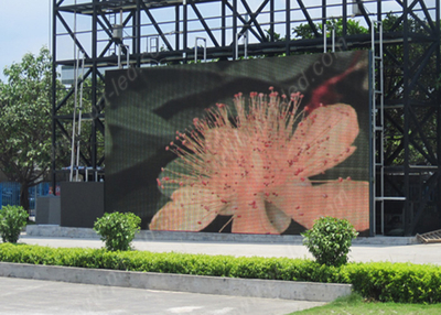 Outdoor SMD Pitch 10mm Rental LED Curtain with 500X1000mm Panel