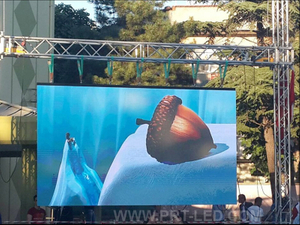 Outdoor Rental Full Color Digital LED Display Sign with 500X1000mm Board