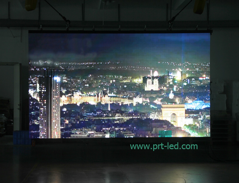 Outdoor/ Indoor Full Color LED Display Screen with 500X500mm/500X1000mm Panel (P3.91/P4.81/P6.25)