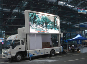 P8 Full Color Vehicles LED for Outdoor Advertisement