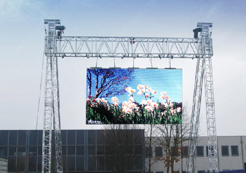 P8 Full Color Outdoor LED Billboard for Message