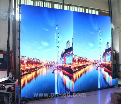 Front Service P1.923 Full Color LED Display Screen with Die-Casting Panel 400X300mm