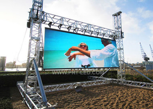 High Resolution P5 Full Color LED Advertising Screen for Outdoor Rental