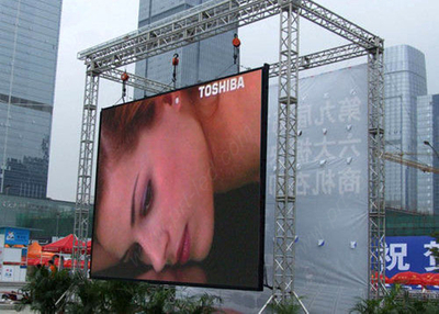 Slim Outdoor Rental P10mm Full Color LED Screen with SMD3535
