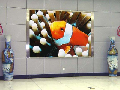 Indoor P8 Full Color LED Sign with Aluminum Cabinet