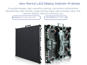 Front/Rear Service Led Display Screen with Board 500 X 500 Mm with (P3.47, P3.91, P4.81)